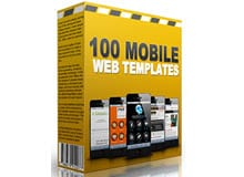 100 Mobile Web Templates