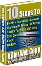 10 Steps to killer web copy 8