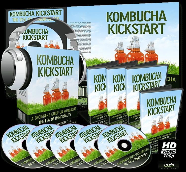 How To Kick Butt With Kombucha Kickstart