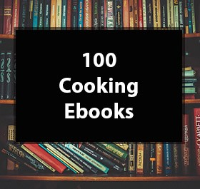 100 cook books mrr