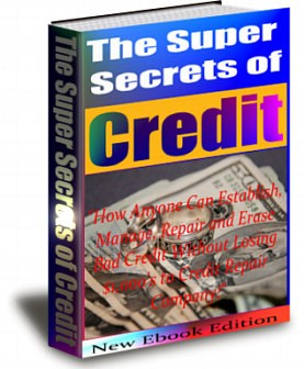 What Can I Learn About The Super Secrets Of Credit? 1