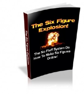 What is Special About The Six Figure Explosion? 11