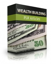 How To Use Wealth Building PLR Articles