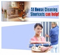 51 House Cleaning Shortcuts can help! 1