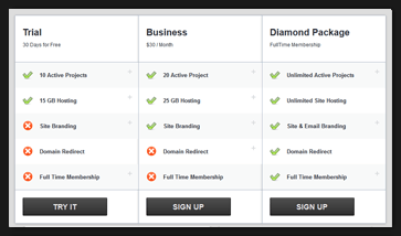 What is an amazing Offline WP Pricing Table?? 2
