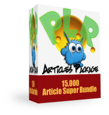 Monster PLR Article Package
