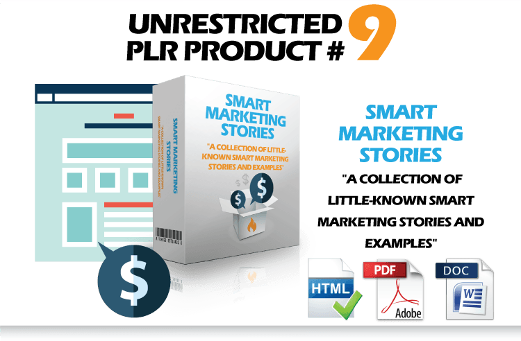 PLR Content - Seymour Products Resell eBooks