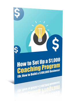 How to Easily Set Up a $1,000 Coaching Program