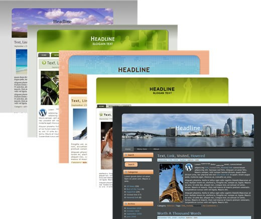 100 Exclusive and Powerful WordPress Themes