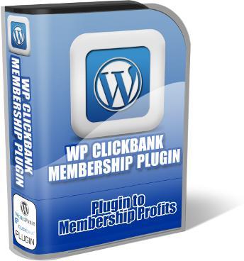 WP CLICKBANK MEMBER SITE PLUGIN