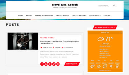 Travel deal search 1